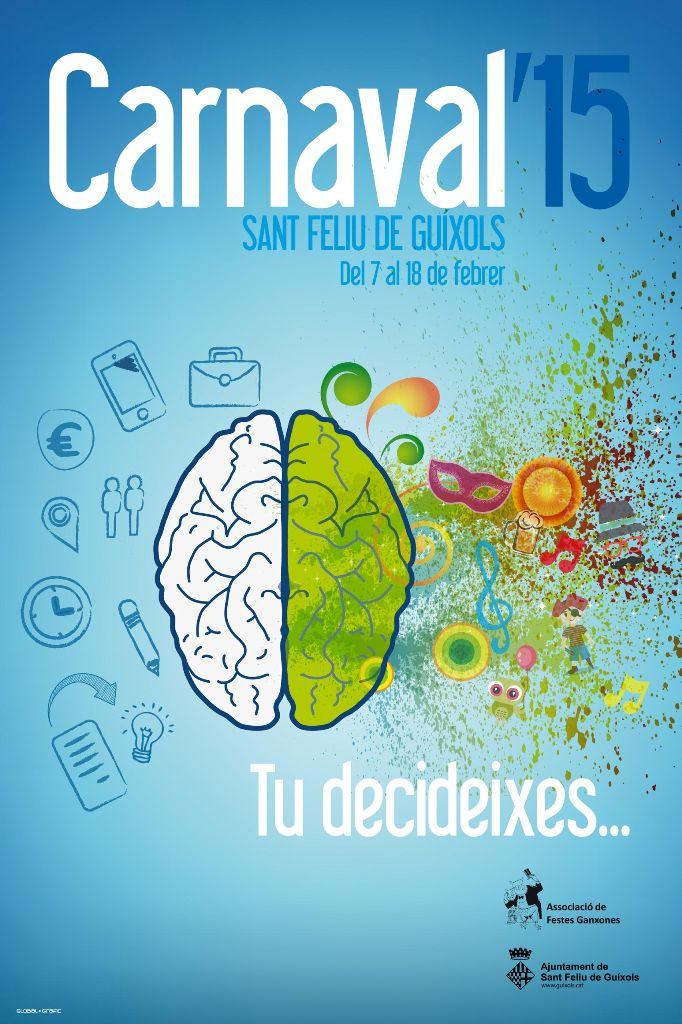 Us presentem el cartell del Carnaval 2015 de Sant Feliu de Guíxols