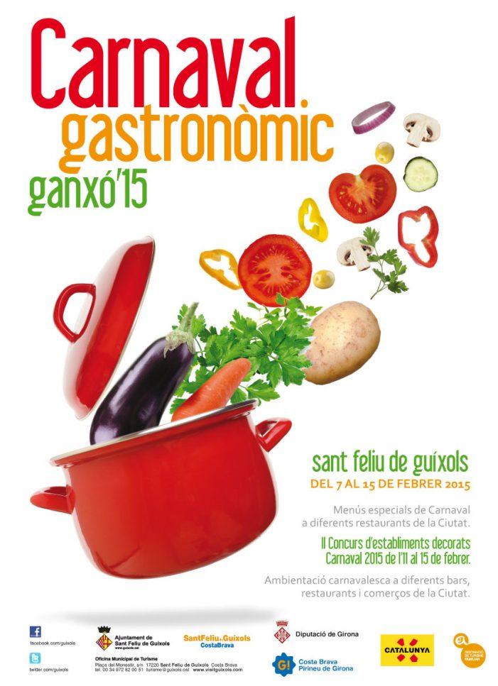 Carnaval Gastronòmic Ganxó als restaurants de Sant Feliu de Guíxols