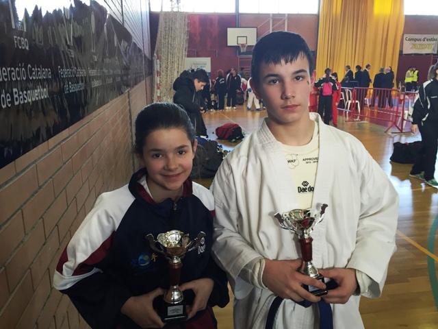 Campions de Catalunya de karate infantil i juvenil