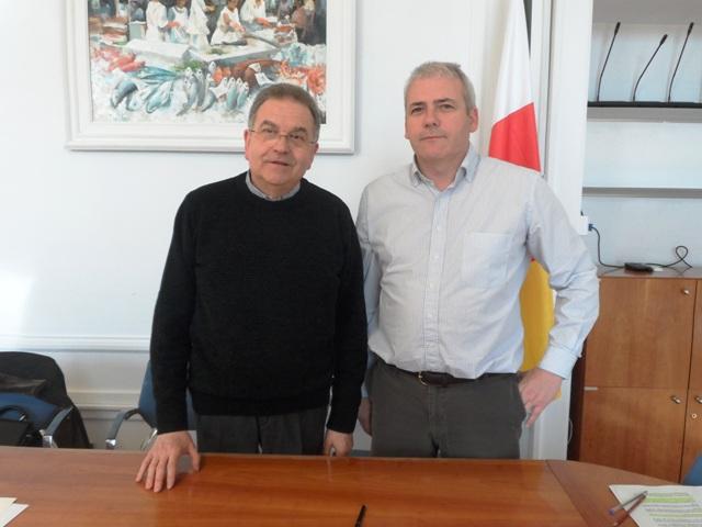 Conveni amb el Bisbat de Girona per reparar la volta romànica de la parroquia
