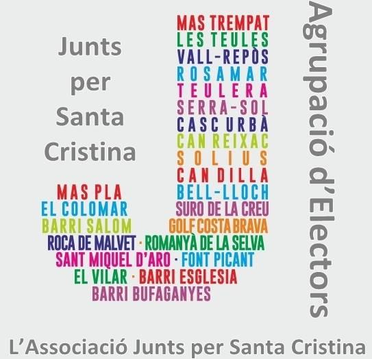 Junts per Santa Cristina, vuitena llista al poble per al 24-M