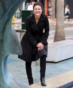Fotos per l'entrevista a Estel Rodríguez, regidora i candidata d'ERC a Castell-Platja d'Aro a les municipals  a l'ajuntament de la localitat: C/ Mossèn Cinto Verdaguer 4.  Estel Rodríguez, regidora i candidata d'ERC a Castell-Platja d'Aro  Careto: No  Foto: quim puig 1226#Quim Puig