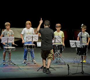 Triple final de curs musical a Sant Feliu