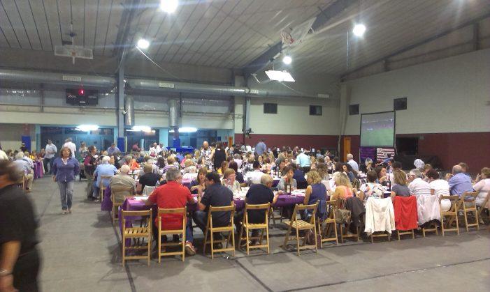 Prop de 450 persones assisteixen a la Mostra de Tastets de Cuina Casolana de Santa Cristina d'Aro