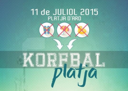 Torneig de Korfbal Platja • Dissabte 11 de juliol