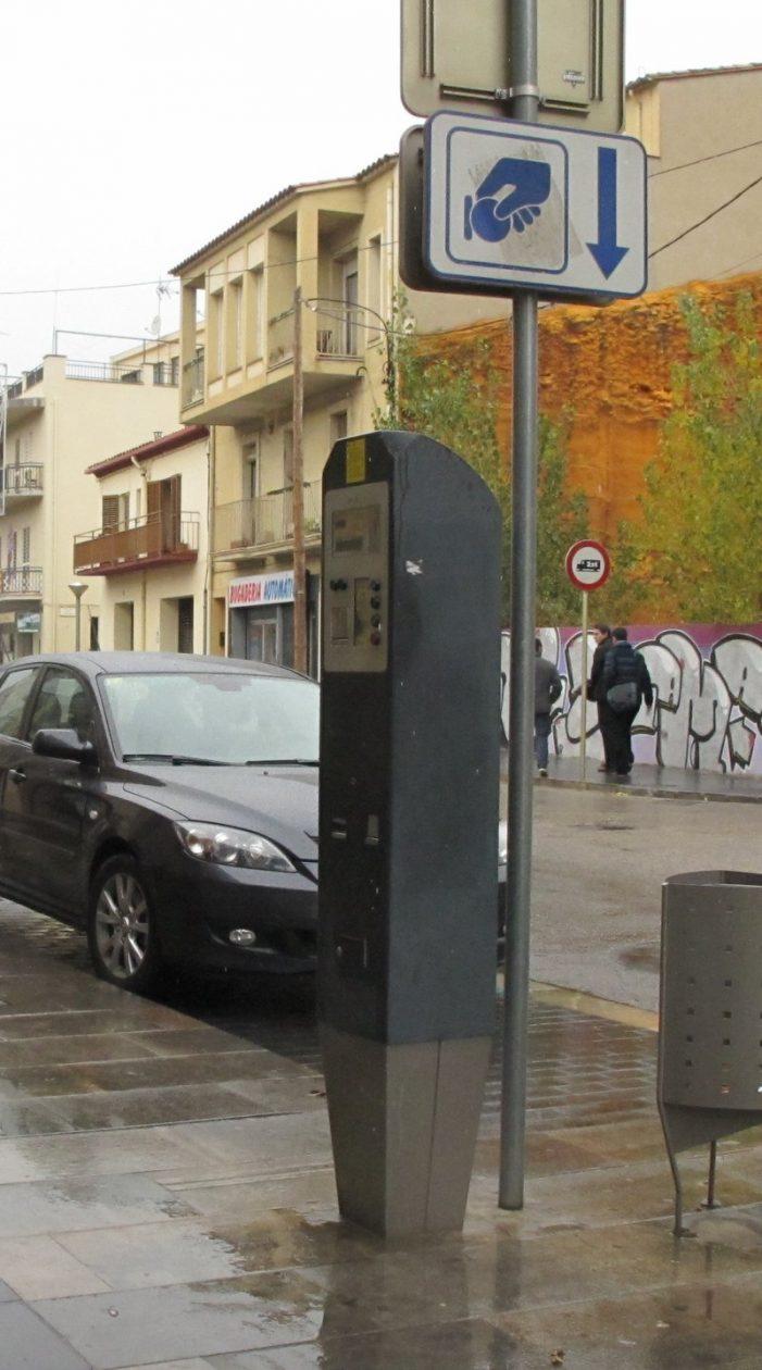 Els lladres de parquímetres actuen a Castelló, Sant Feliu, l'Escala i la Jonquera