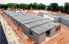 Avança la construcció de la nova escola de Castell d´Aro