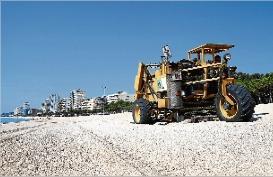Platja d´Aro consciencia sobre el manteniment de les platges
