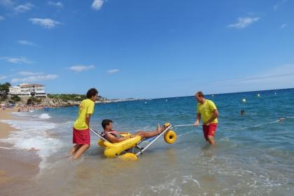 Millora de l'accessibilitat a les platges