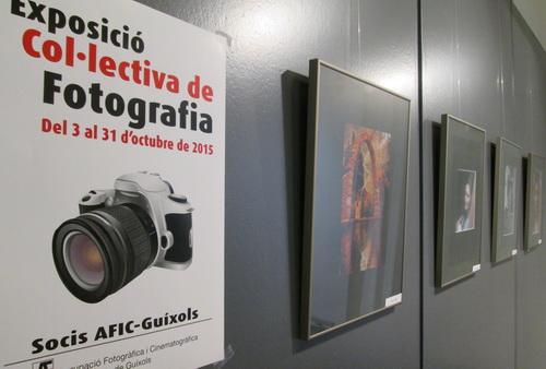 EXPO COL·LECTIVA DE L'AFIC-GUÍXOLS A L'AJUNTAMENT