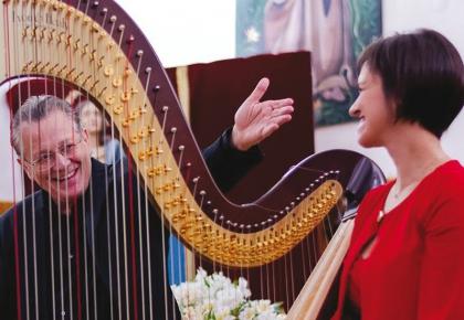 Recital de flauta i arpa · Diumenge 11 d'octubre