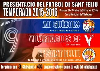 Presentació oficial de tot el futbol de la ciutat