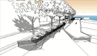 El govern desfà el projecte de les terrasses al passeig Rius i Calvet
