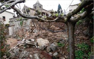 Santa Cristina refarà el mur de Romanyà per prop de 40.000 €