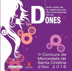 Organitzen el primer concurs de microrelats de dones