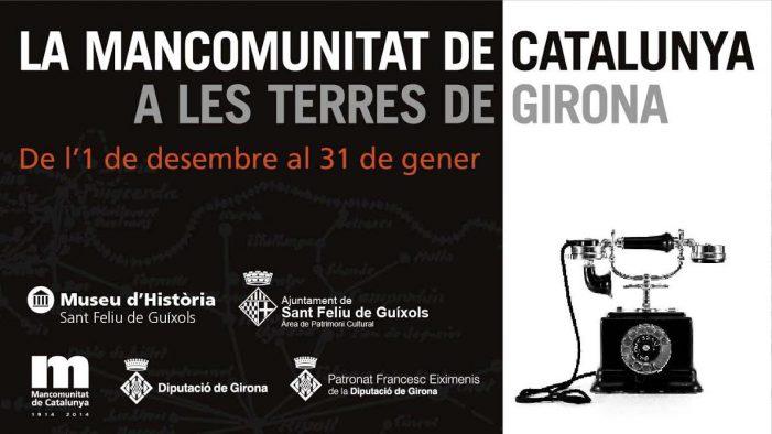 Exposició: lLa primera experiència d'autogovern de la Catalunya contemporània arriba a Sant Feliu de Guíxols de la mà de l'exposició itinerant La Mancomunitat en terres de Girona