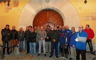 Els Mossos controlen la concentració de la Policia de Sant Feliu