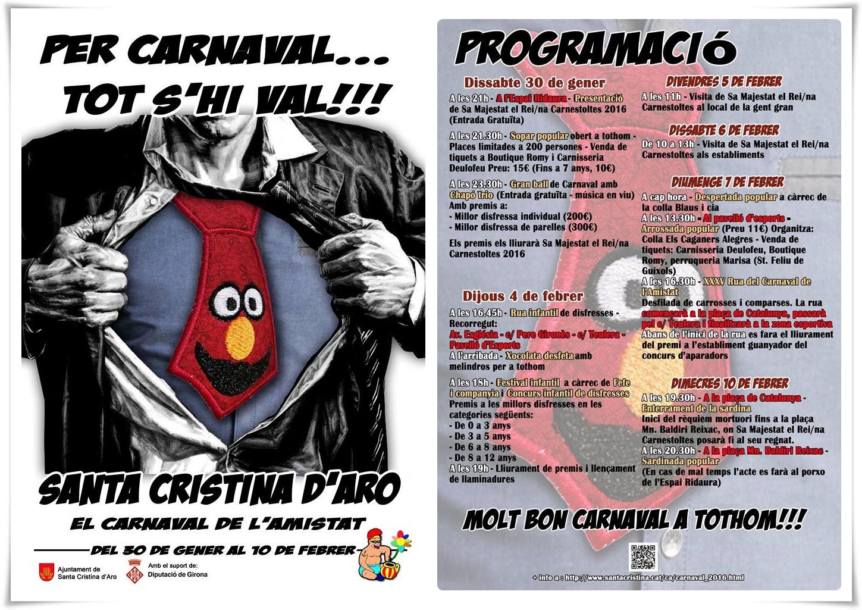 carnaval santa cristina 2016
