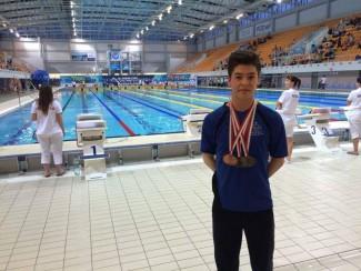 Max Martínez (CA Xaloc), classificat per al mundial de natació amb aletes