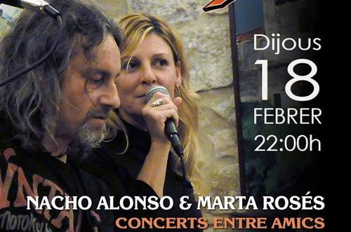 NACHO ALONSO & MARTA ROSÉS AL CHEERS