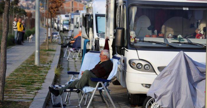 La taxa turística farà regular el pàrquing d'autocaravanes