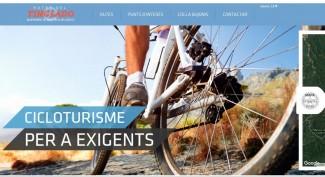 Nou web municipal per a cicloturistes i naturistes