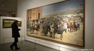 BARCELONA  9 DE MARZO DEL 2016  EXPOSICION SOBRE RAMON CASAS EN EL MUSEU DEL MODERNISME  EN LA CALLE DE BALMES 48 DE BARCELONA  FOTO DE MONICA TUDELA
