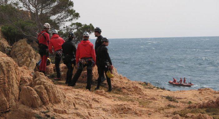 Sense rastre del pescador desaparegut a Tamariu