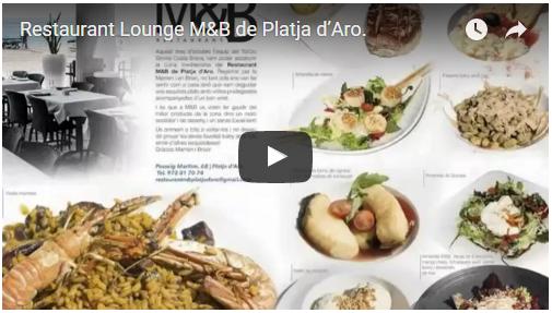 Restaurant Lounge M&B de Platja d'Aro