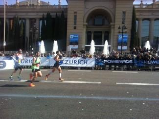 Rafa Guerrero finalitza lesionat la Marató de Barcelona