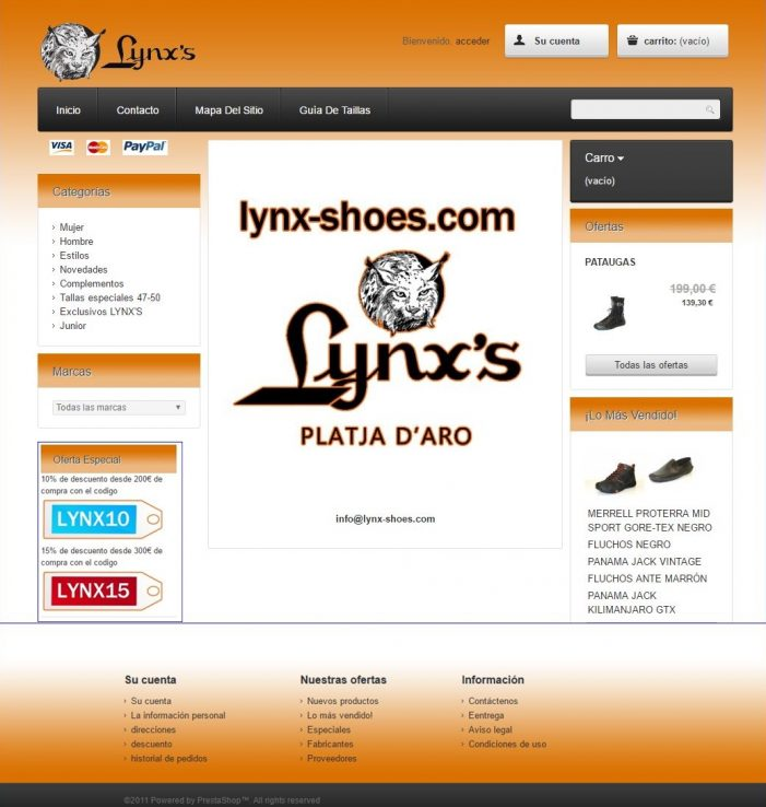 Lynx's ofertes i novetats on line