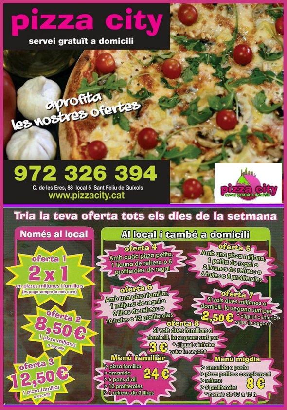 pizza city ofertes