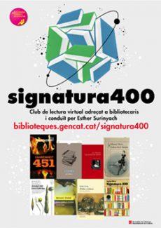 """Neix """"Signatura 400"""", un club de lectura virtual per a apassionats dels llibres"""