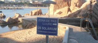 Guíxols des del Carrer es queixa de la restricció del Club de Mar