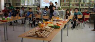 Més de 400 alumnes participen en la Quinzena Gastronòmica