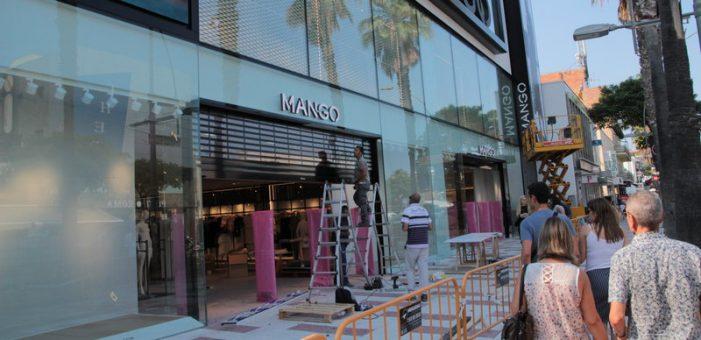 Compte enrere per a la botiga nova de Mango a Platja d'Aro
