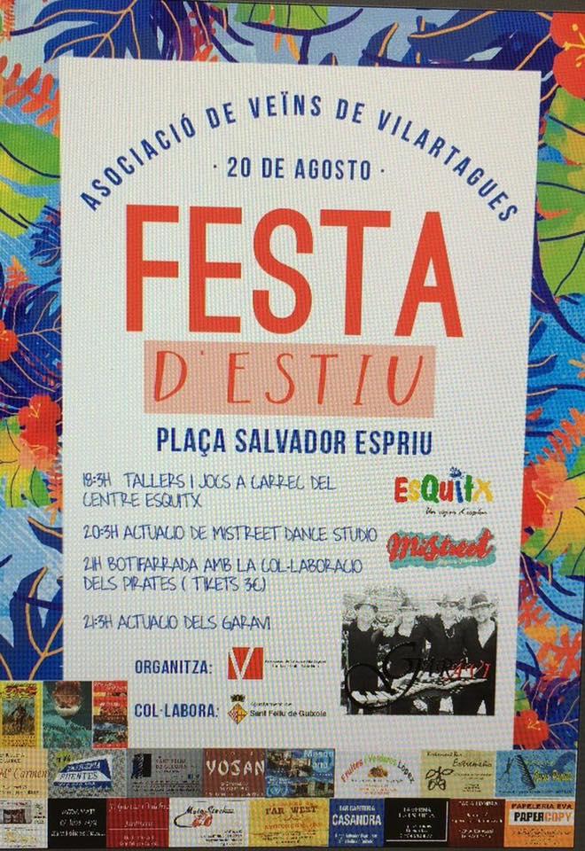 Festa d'estiu a Vilartagues!