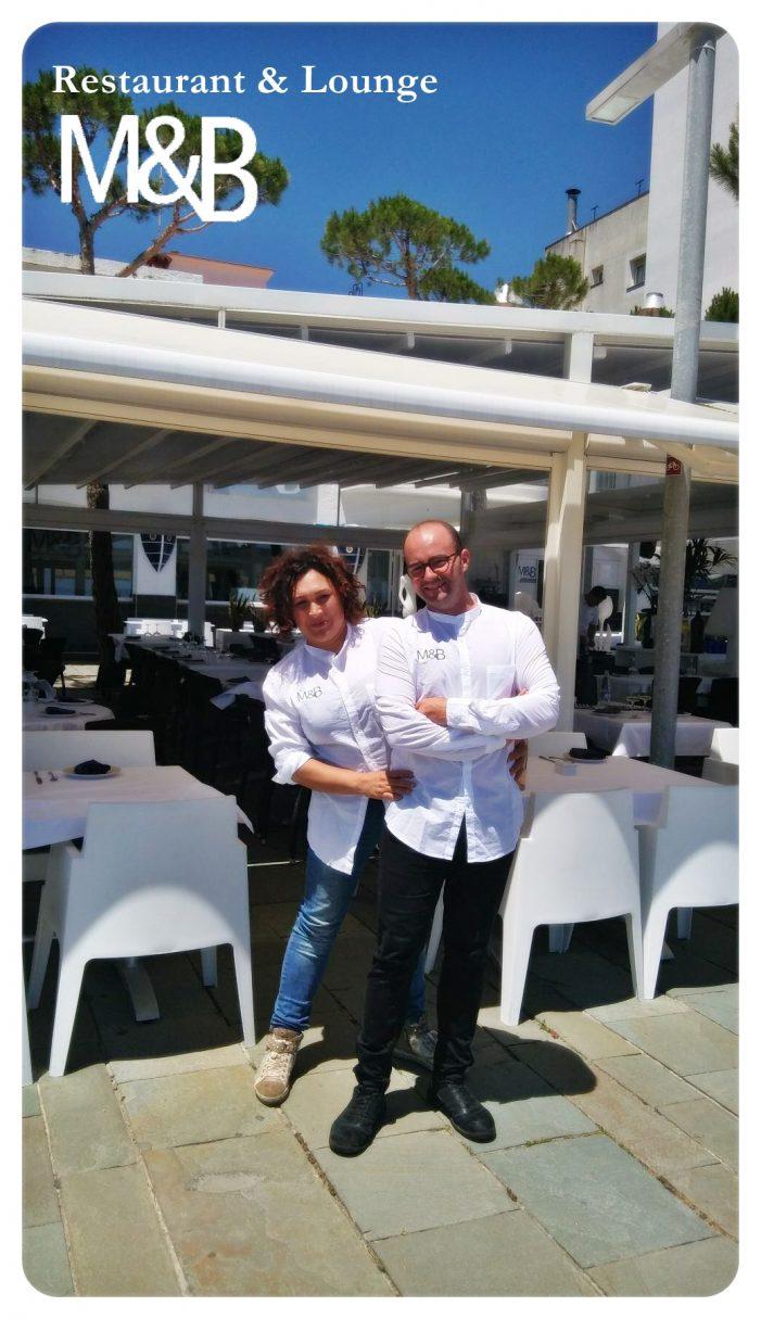 Restaurant Lounge M & B, dos empresaris que estimen el seu ofici