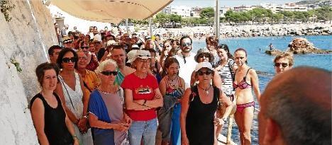 Una plataforma vol recuperar l'ús públic del Club de Mar, a Sant Feliu de Guíxols