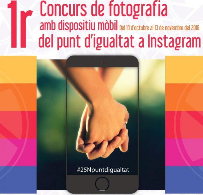 1r. Concurs fotografia amb mòbil del Punt d'Igualtat