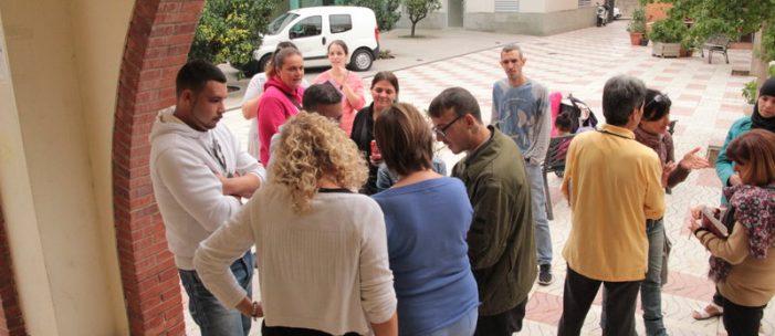 Ocupants amb fills a Santa Cristina demanen solucions