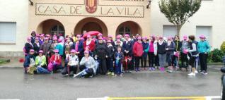 III Caminada contra el càncer de mama a Santa Cristina d'Aro
