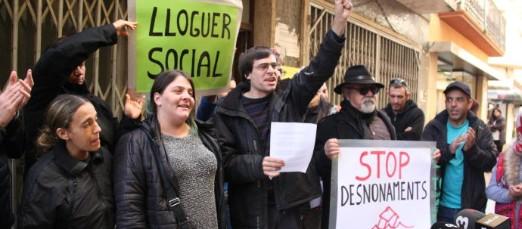 Tres famílies ocupen un bloc de pisos a Sant Feliu de Guíxols de l'herència Anlló