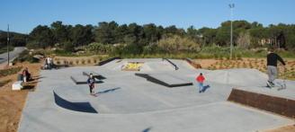Sant Feliu recepciona les obres de l'skate park