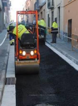 Sant Feliu reobre avui el carrer Sant Martirià, en obres des de l'octubre