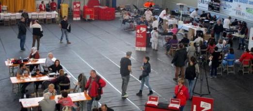 Unes 400 persones donen sang en la marató de Sant Feliu de Guíxols