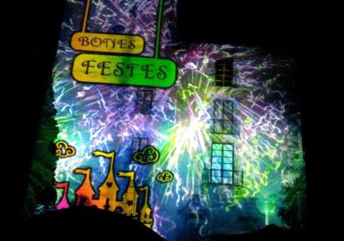 Gran espectacle audiovisual a Sant Feliu de Guíxols (Mapping) Els dies 4 i 5 de gener.