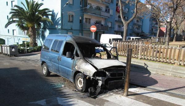 Comunicat de l'Ajuntament de Sant Feliu de Guíxols en relació a la recent detenció del suposat autor de la crema de nou vehicles a la ciutat