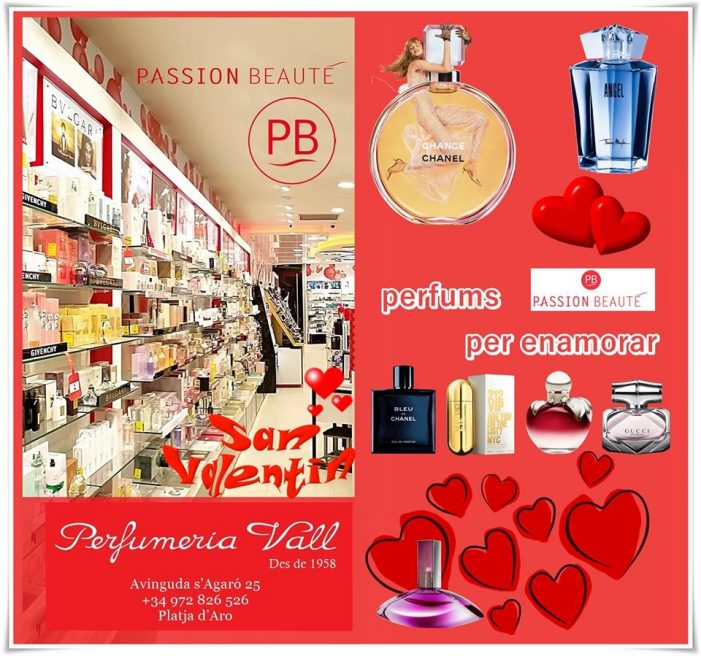 Perfumeria Vall #santvalenti #14febrer #testimo #platjadaro