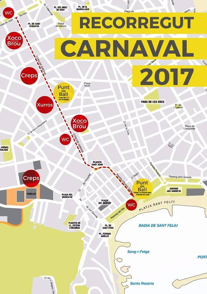 Carnaval de Sant Feliu de Guíxols està de festa !!